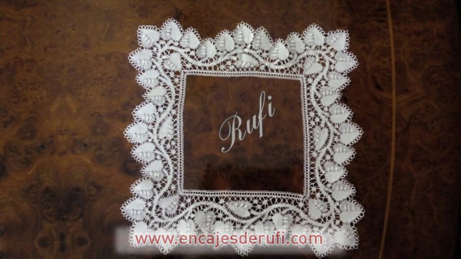 Pañuelo de encaje popular de Almagro