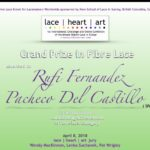 Grand prize in fibra lace - Encajes de Rufi
