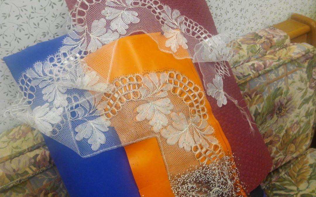 Pañuelo de chantilly